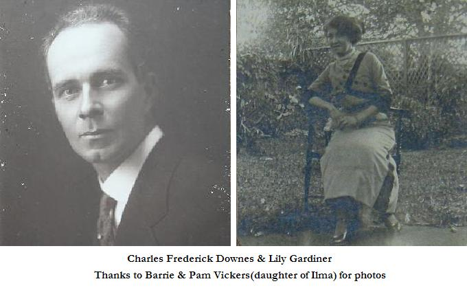 Charles Frederick Downes & Lily Gardiner